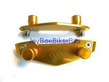 SUZUKI GSF 1200 BANDIT Engine case slider crash  protection mushrooms GOLD R11C6