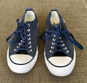 Details about Mens Converse Custom Chuck Taylor All Star Low Top Navy blue size 11