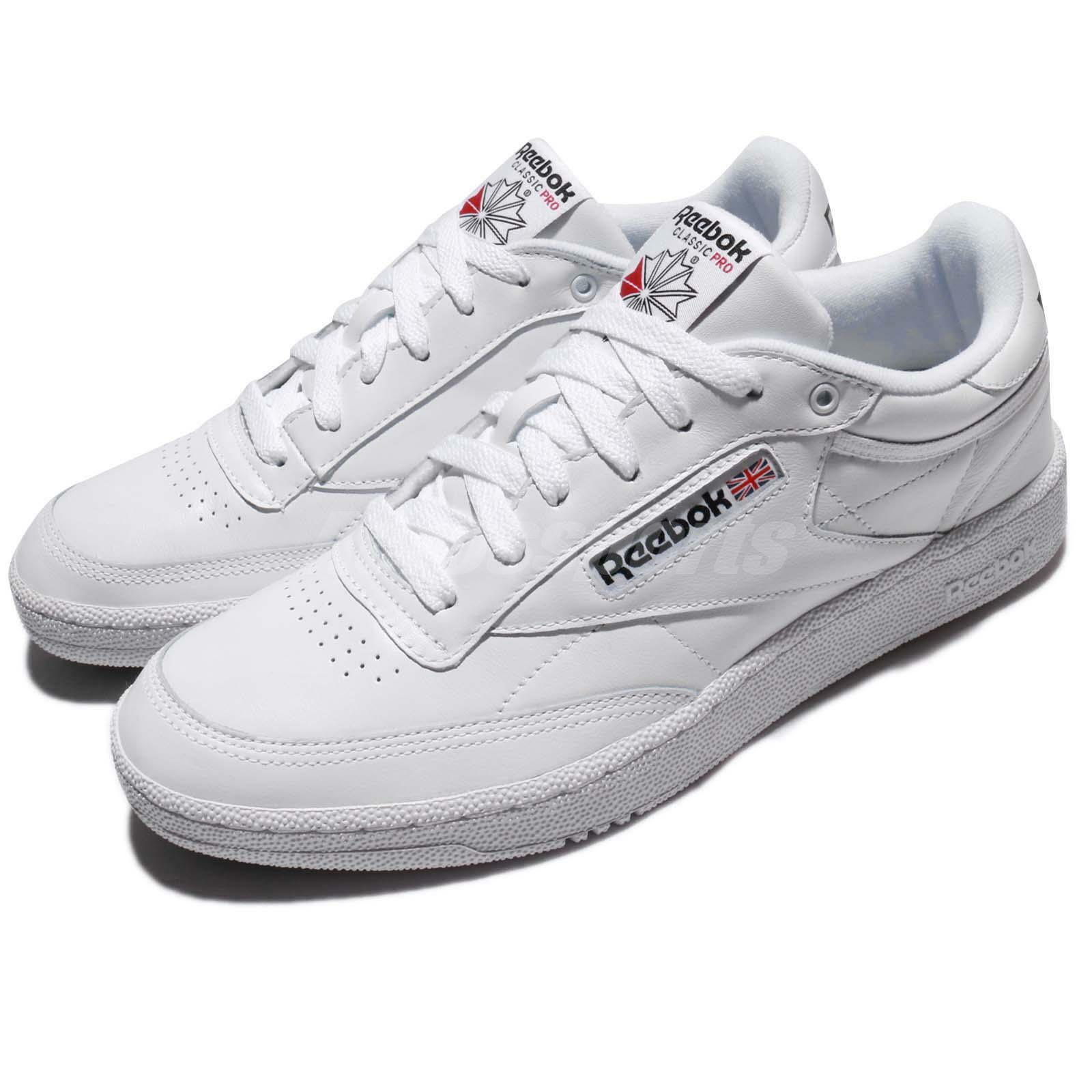 Reebok Club C 85 Pro Leather blanco Classic Men zapatos zapatillas Trainers CM9430
