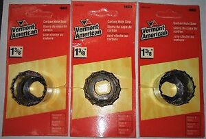 Vermont-American-18322-1-3-8-Carbon-Hole-Saw-3pcs