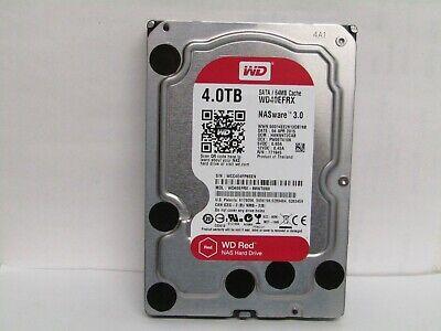 "Western Digital 4TB Red 5400RPM Internal 3.5"" SATA Hard ..."