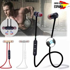 Auriculares-Bluetooth-4-1-Inalambricos-Magnetico-Microfono-Cascos-Deportivos