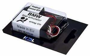 For BMW F10 F20 F01 F30 F25 F15 Seat Occupancy sensor Bypass Mat Emulator Airbag