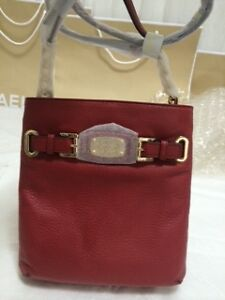 Michael-Kors-Bag-5F2GHMC3L-MK-Hamilton-Large-Crossbody-Leather-Bag-Red