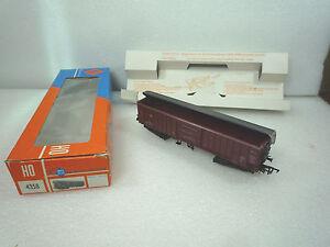 HO-roco-4358-Wagon-a-toit-basculant-fonctionnel-a-2-bogies-type-Taes