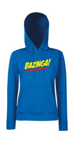 Bazinga Cappuccio Con Felpa Felpa Girlie Bazinga Con Girlie Cappuccio SZq7Sv