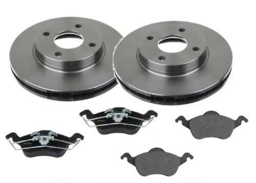I DAW Bremsen Vorderachse Bremsscheiben Beläge vorne Neu Ford Focus 1