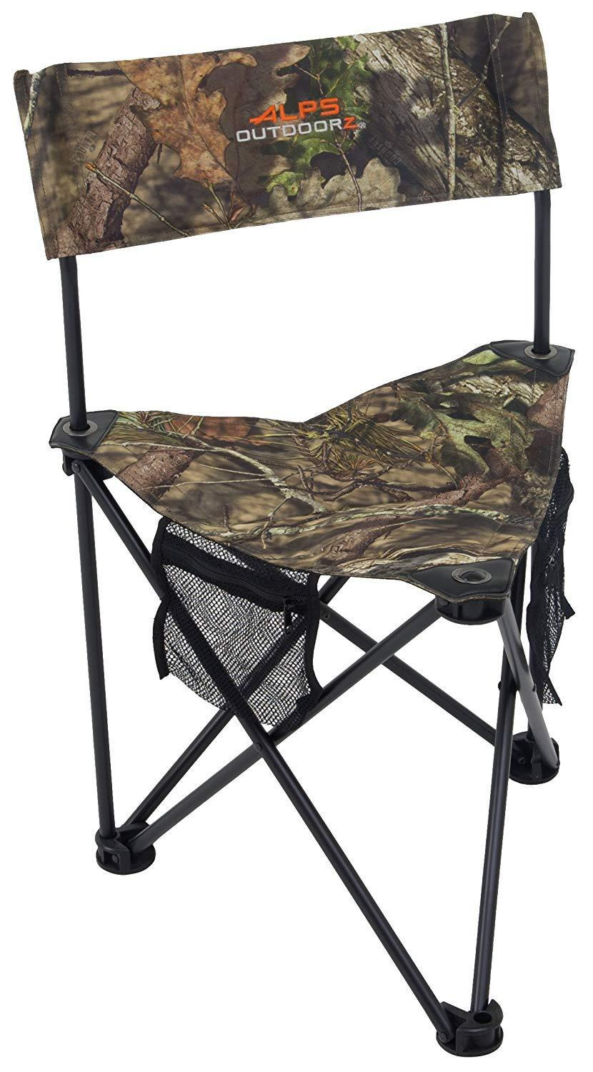 ALPS OutdoorZ Rhino MC Folding Mossy Oak Camo Camping / Hunting / Fishing Chair