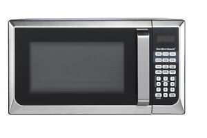 Stainless-Steel-Microwave-Oven-Dorm-College-Apartment-900w-LED-Countertop-Home