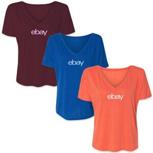 Women's Cut Slouchy V-Neck T-shirt