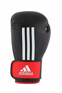 Adidas Boxing Gloves Energy 200 Matt Sparring Gloves Boxing Black Carbon 10-16oz
