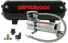 Air Compressor Chrome 400 airmaxxx 3 Gallon Air Tank Drain 150 on 180 off Switch