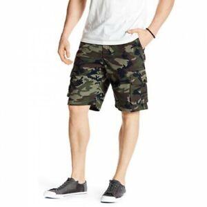 Quiksilver-Men-039-s-Camo-Measure-Cargo-Shorts-Retail-39-99