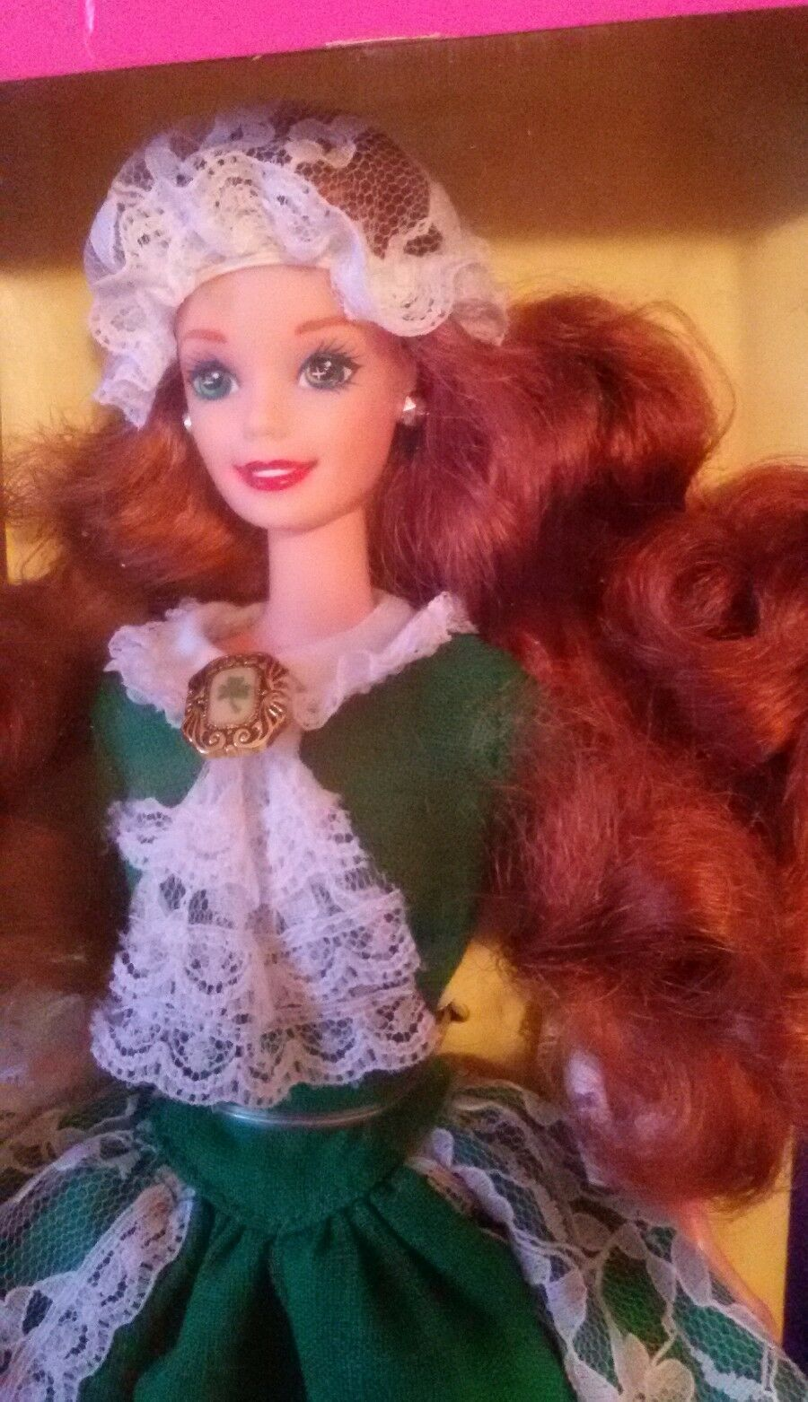 BARBIE   IRISH DOLLS OF THE WORLD 1994 NRFB no silkstone