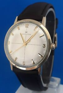 Men's Vintage Hamilton, 17 Jewels Watch.FREE 3 DAY PRIORITY SHIPPING.