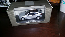 Mercedes Benz C-Klasse Sport Coupe 1:43 model - brilliant silver metallic