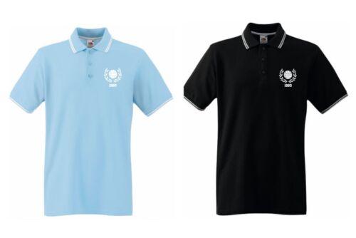 world-of-shirt 1860 Herren Polo-Retro Supporters Ultras