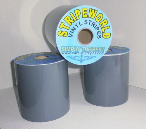 100mm Self Adhesive Gloss Grey Vinyl Stripe for car caravan horsebox or boat