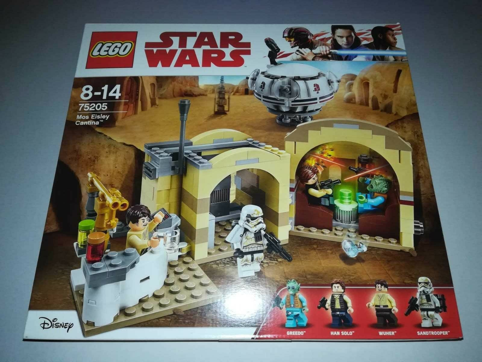 Lego Star Wars 75205 Cantina Seltenes Set