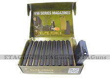 10x Elite Force 140 RD Airsoft MID Cap Capacity M4 M16 Mag Magazine KWA G&G JG