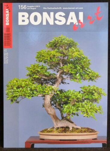 Juli // August 2019 156 Bonsai-Zeitschrift #6 Neueste Bonsai art Nr