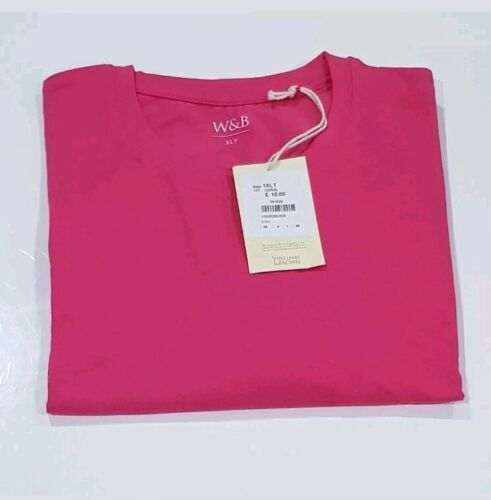 Williams /& BROWN  men/'s coral short sleeved top t shirt top plus sizes LT-4XL