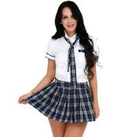 Naughty Girls High School Cheerleader Costume Kids Fancy Dress Outfit Halloween