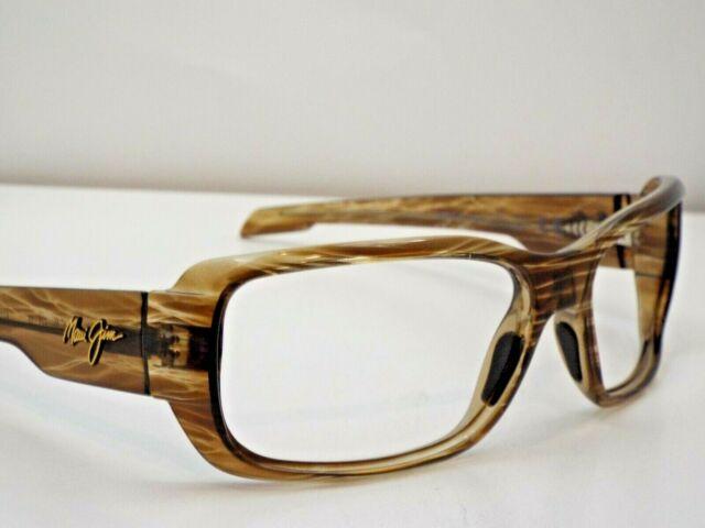 051f05a35c5d Maui Jim Hamoa Beach H226-15 Sunglasses Striped Rootbeer Flex Hinge Frames  G85 for sale online | eBay