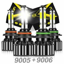 4side 90059006 Led Combo Headlight Kit Cob Cob 440w Light Bulbs High Low Beam