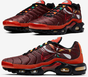 Nike Air Max Plus Tn Sunburst Habanero Red Orange Gold Black