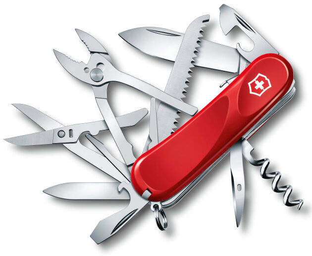 2.3953.SE VICTORINOX ARMY SWISS ARMY VICTORINOX KNIFE EVOLUTION ROT S52 2.3953.SEUS WENGER a9cd0e
