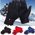 Windproof Waterproof Touch Screen Warm Glove Mittens Fleece Outdoor Cycling Lot