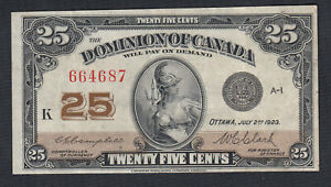 1923-DOMINION-OF-CANADA-25-CENTS-BANK-NOTE-CAMPBELL