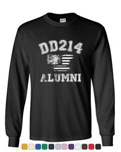 DD214-Alumni-Distressed-American-Flag-Long-Sleeve-T-Shirt-Military-Veteran-Tee
