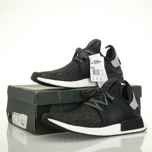 brand new 2c1cd 5df1a adidas Originals NMD Xr1 PK Primeknit Black Limited Mens SNEAKERS / S77195  12.5