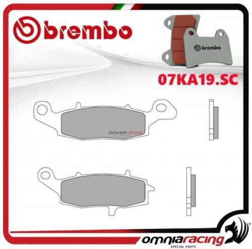 Pastiglie freno sinterizzate anteriori per Suzuki Gladius 650 2009/> Brembo SC