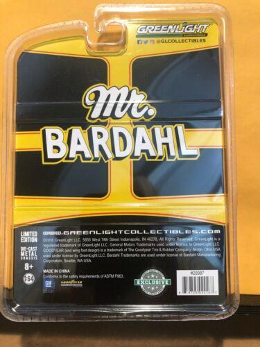 1//64 GREENLIGHT MR BARDAHL 1967 CHEVROLET CAMARO YELLOW AND BLACK