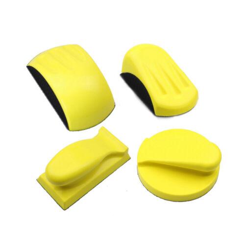 Sanding Disc Holder Sandpaper Backing Polishing Pad Hand Grinding Block