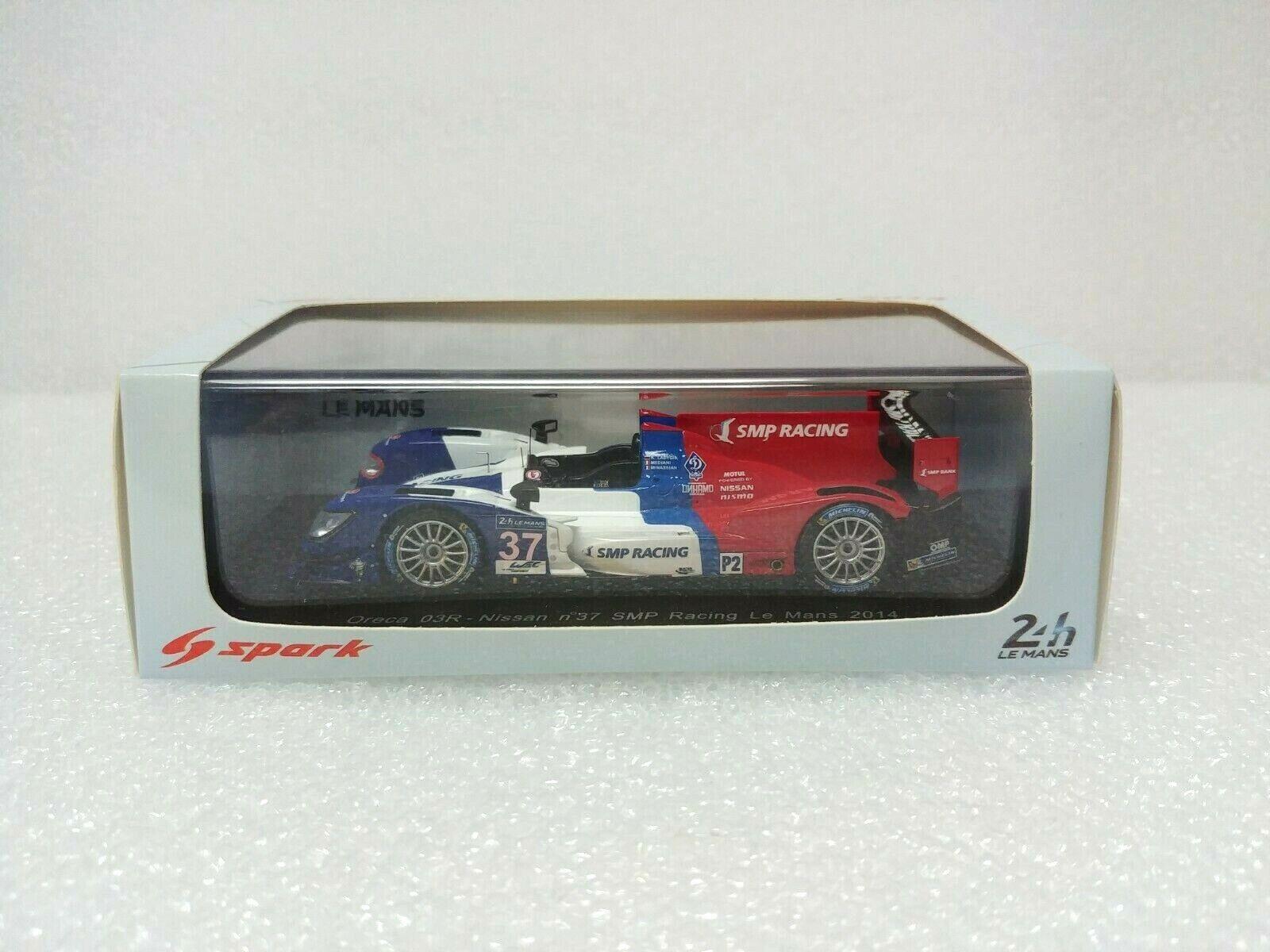 Oreca 03R - Nissan n.37 Le Mans 2014 SPARK MODEL 1 43  S4218