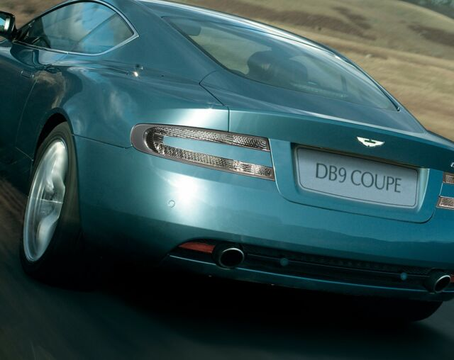 Genuine Aston Martin Db9 Coupe Volante V8 Vantage Clear Rear Tail Lights For Sale Online Ebay