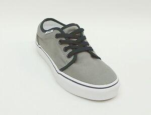 de43c0b3373c70 Vans Grey Lace Up Authentic Sneakers Skate Shoes Men s 4   Women s ...