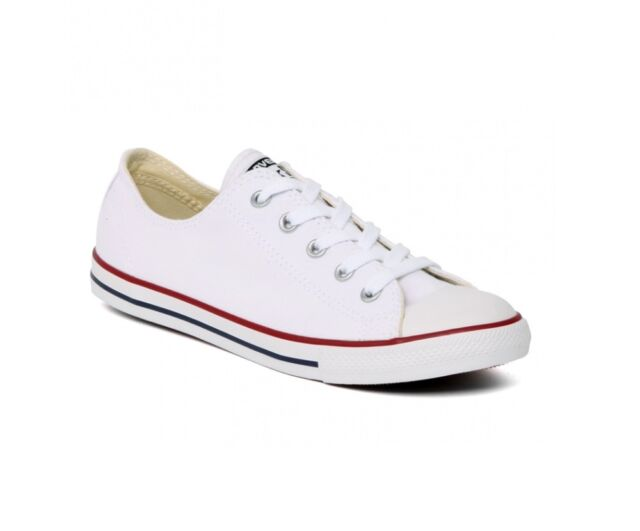 fd46cf55dcf CONVERSE ALL STAR CT DAINTY OX - WHITE - 537204C - WOMENS TRAINERS - BRAND  NEW