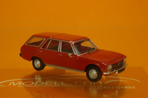 1978 rot 1:87 Brekina PCX870027 Peugeot 504 Break