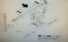 Cp Bourg Pa T Amp Pa P Folder Exit 2 Belt Set Pt 9126010 We Sell Bourg Parts