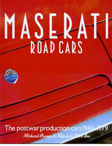 MASERATI BOOK CRUMP BOX ROAD CARS