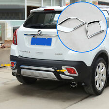 Rear Bumper Light Reflector Lamp Chrome Cover Trim For BUICK ENCORE MOKKA 13-14