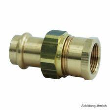 """Viega Sanpress Winkel 90° mit IG Rotguss 28 mm x 1/"""" 2214.2 SC-Contur Mod"""