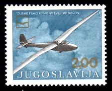 Yugoslavia - 1972 Gliding championship - Mi. 1471 MNH