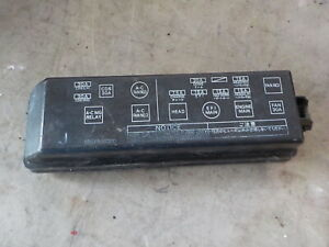 [SCHEMATICS_44OR]  86-92 Toyota Camry Under Hood Engine Fuse Box Cover Lid Map | eBay | Toyota Fuse Box Price |  | eBay
