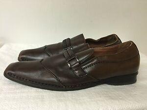 51750d38271 Details about Steve Madden Men's P-Dewit Brown Dress Shoes -leather upper-  size 13